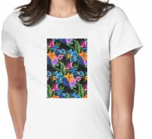 Jungle Vibe Womens Fitted T-Shirt