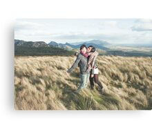 Kerry and Jin Walkers Lookout Canvas Print