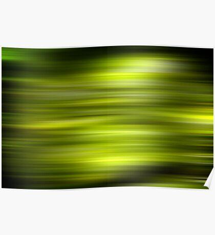 Green Stripe Poster