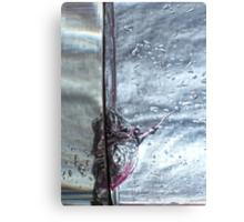 Water drops abstract 3 Canvas Print
