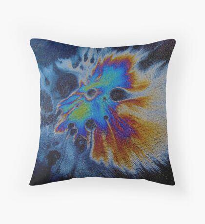 Harlequin Mask Expanded Throw Pillow