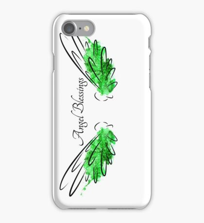 Archangel Raphael: Angel Blessings iPhone Case/Skin