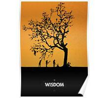 99 Steps of Progress - Wisdom Poster
