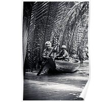 Mekong Delta villagers Poster