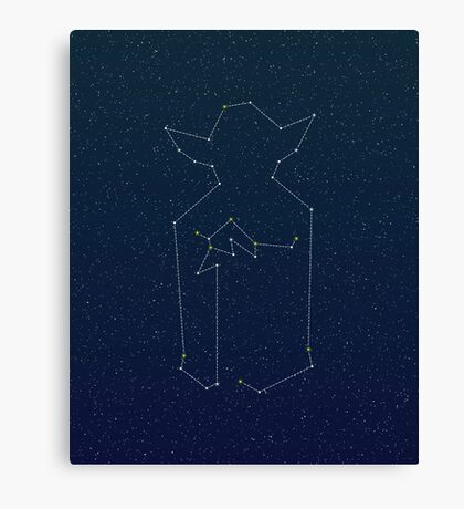 Star Peace Canvas Print