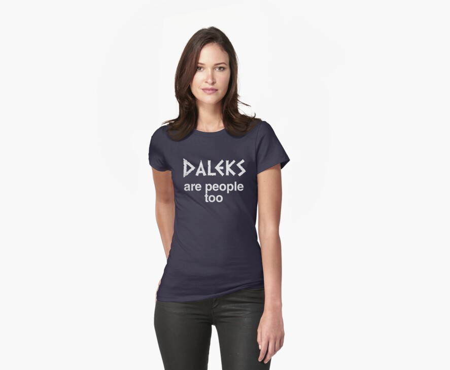 Daleks are people too (regular) by 24hoursayear