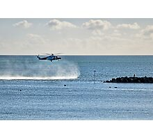 Coastguard Training Exercise Photographic Print