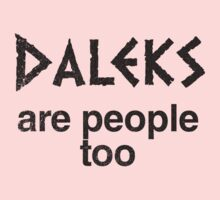 Daleks are people too (inverted) by 24hoursayear