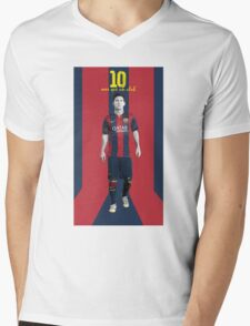 Lionel messi Mens V-Neck T-Shirt