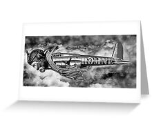 Is it a Bird is it a Plane No its Romney. Greeting Card