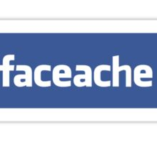 Face ache social networking! Sticker
