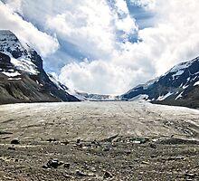 Receding glacier by Erika Price