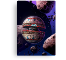 Into the Asteroid Field Canvas Print