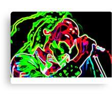 Psychedelic Mr Marley Canvas Print