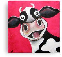 Mrs Cow Canvas Print