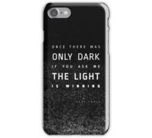 LIGHT vs. DARK iPhone Case/Skin