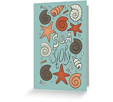 Sea story Greeting Card