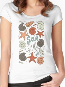 Sea story Women's Fitted Scoop T-Shirt