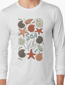 Sea story Long Sleeve T-Shirt