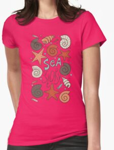 Sea story Womens Fitted T-Shirt