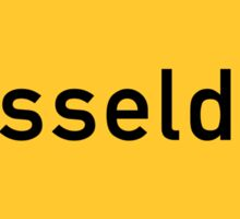 Dusseldorf, Road Sign, Germany Sticker
