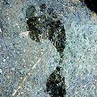 Footprint on rock by SusieMcLaren