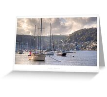 Dartmouth, Devon Greeting Card