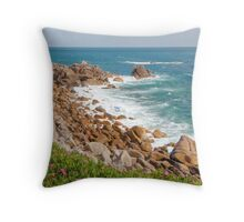 St Mary's, Isles of Scilly Throw Pillow