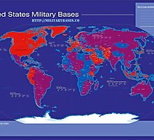 Military Bases of United States Infographic by JodiDearmond