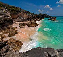 Bermuda Beach Near Horseshoe Bay by Gary & Marylee Pope