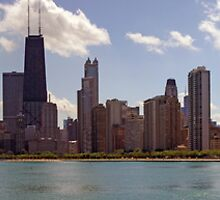Chicago from North Beach by kenelamb