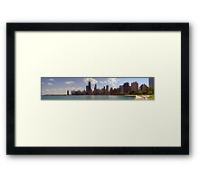Chicago from North Beach Framed Print