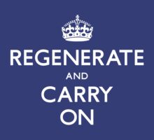 Regenerate and Carry On by TerryLightfoot