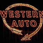 Western Auto Sign, Kansas City, MO by kenelamb