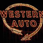 Western Auto Sign, Kansas City, MO by kenelamb