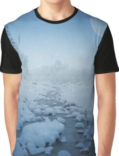 Snowy Creek Graphic T-Shirt