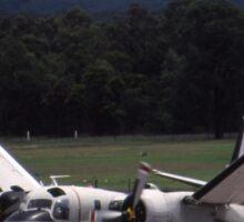 Grumman Tracker - Wings Folding - @ Nowra, Australia Sticker