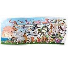Studio Ghibli Parade Poster