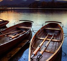 Derwent Water Sunset by MartinWilliams