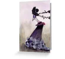 holding back Greeting Card