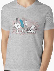 The Sampsans Mens V-Neck T-Shirt