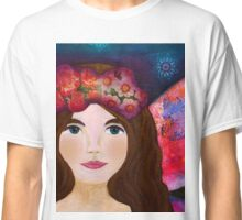 Night Fairy with multicolor wings Classic T-Shirt