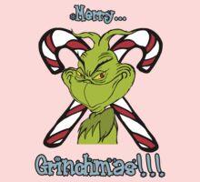 Merry Grinchmas One Piece - Long Sleeve