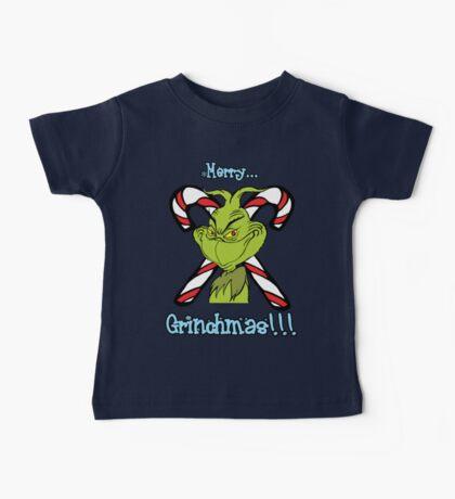 Merry Grinchmas Baby Tee