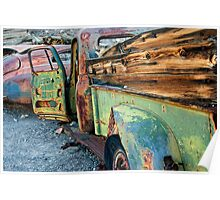 Oxidized Truck Poster