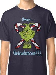 Merry Grinchmas (Grunge ver.) Classic T-Shirt