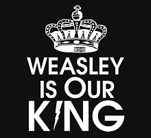 Weasley is our king - White Tank Top