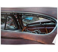 Oxidized Car, Steering Wheel Poster