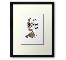 Toca La Pared Framed Print