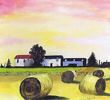 Farm near Foveran by ALICE STUART